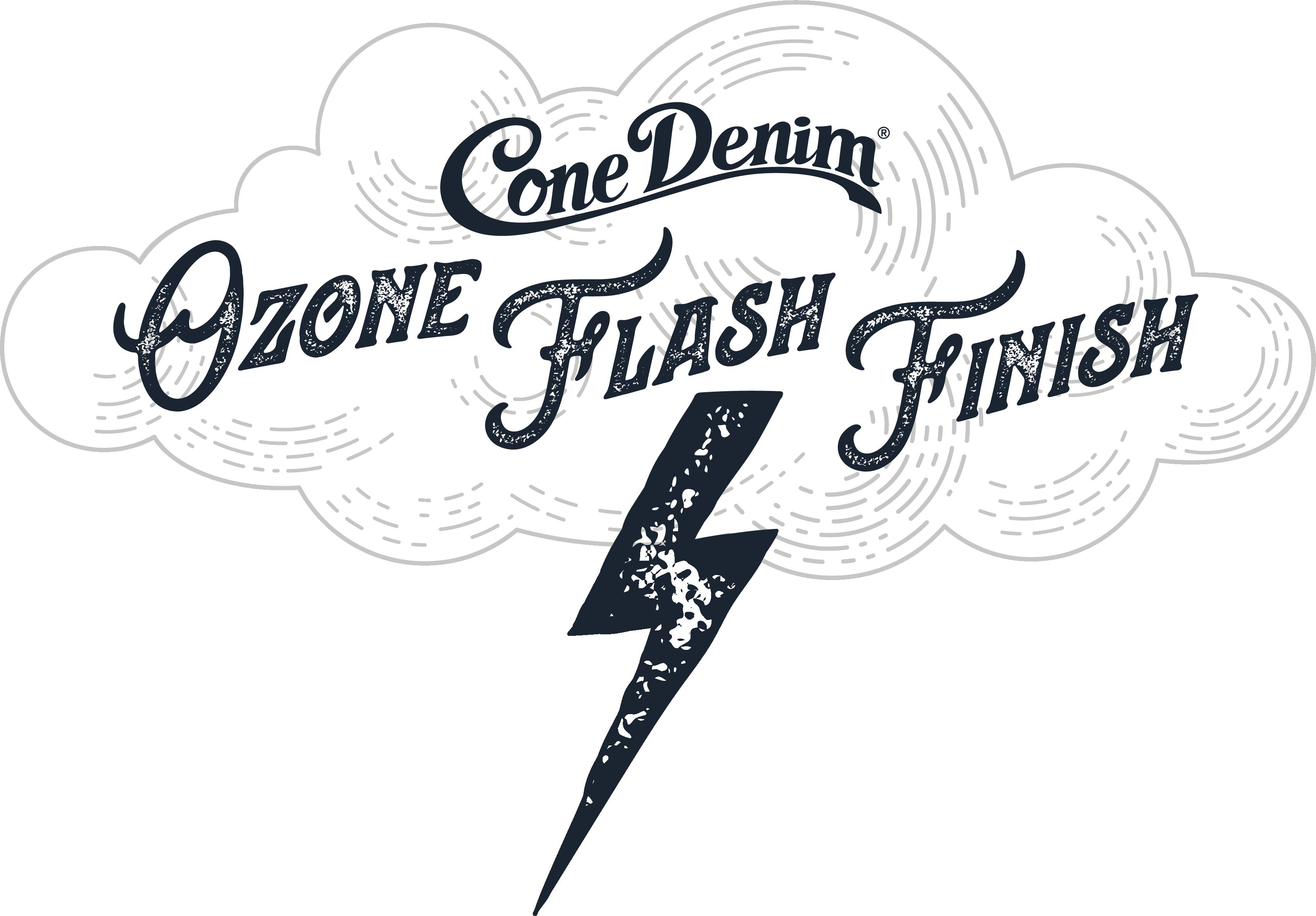 Cone Denim Collection Highlight Ozone Flash Finish