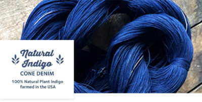 Cone Denim x True Blue Natural Indigo