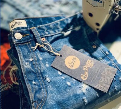 Cone Denim and Crystal Collaboration
